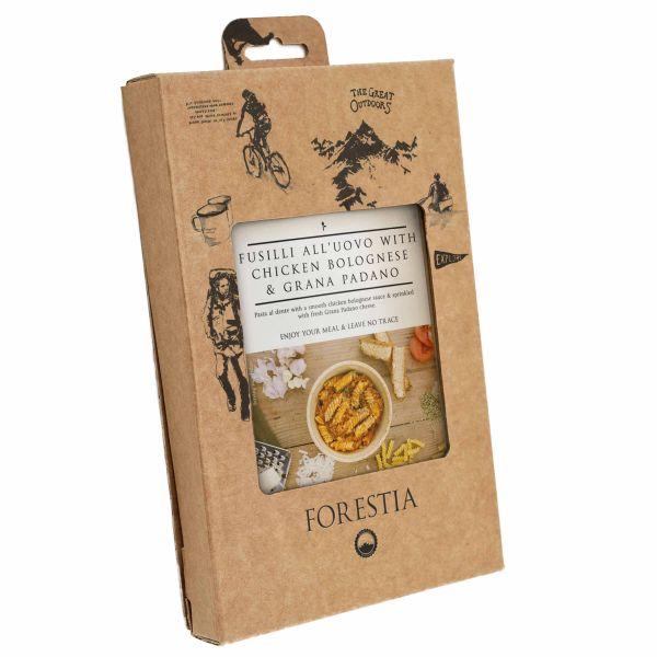 Forestia Eier-Spiralnudeln mit Hühnchen Bolognese