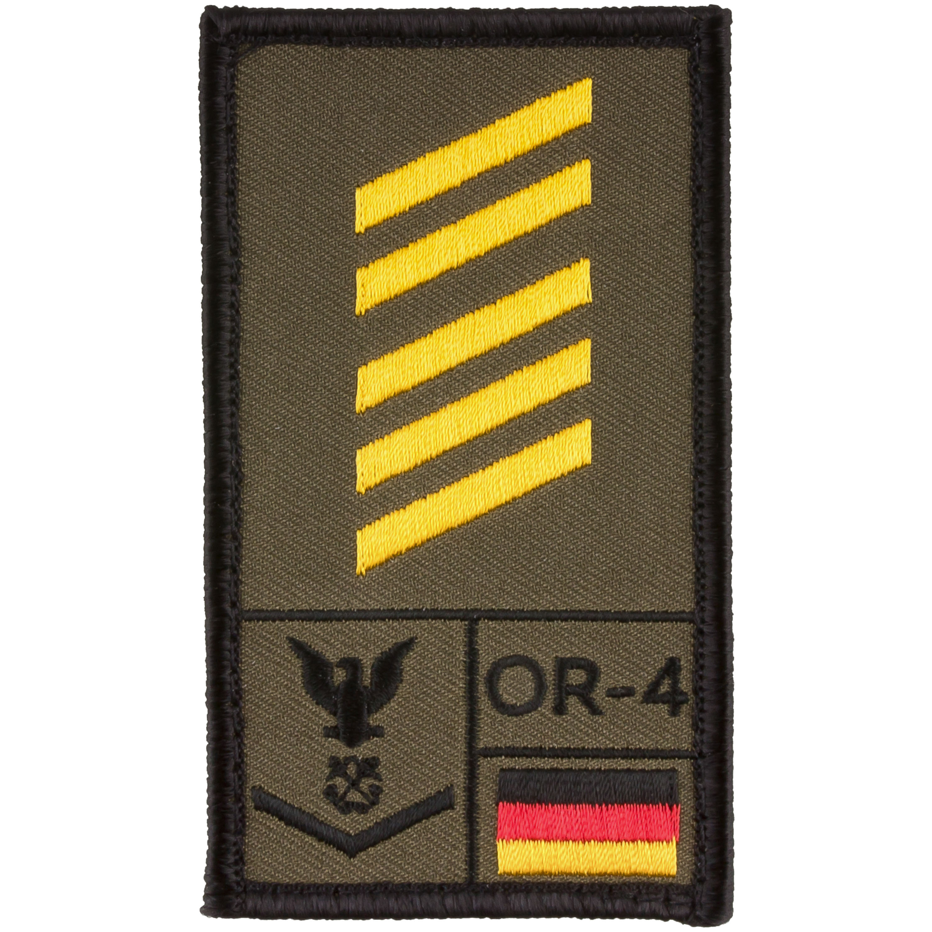 Café Viereck Rank Patch OSG Marine oliv