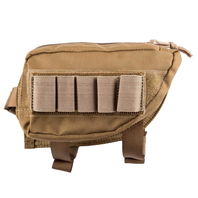 Invader Gear Schulterstützentasche Stock Pad coyote
