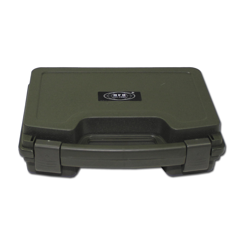 Pistolenkoffer Kunststoff klein oliv
