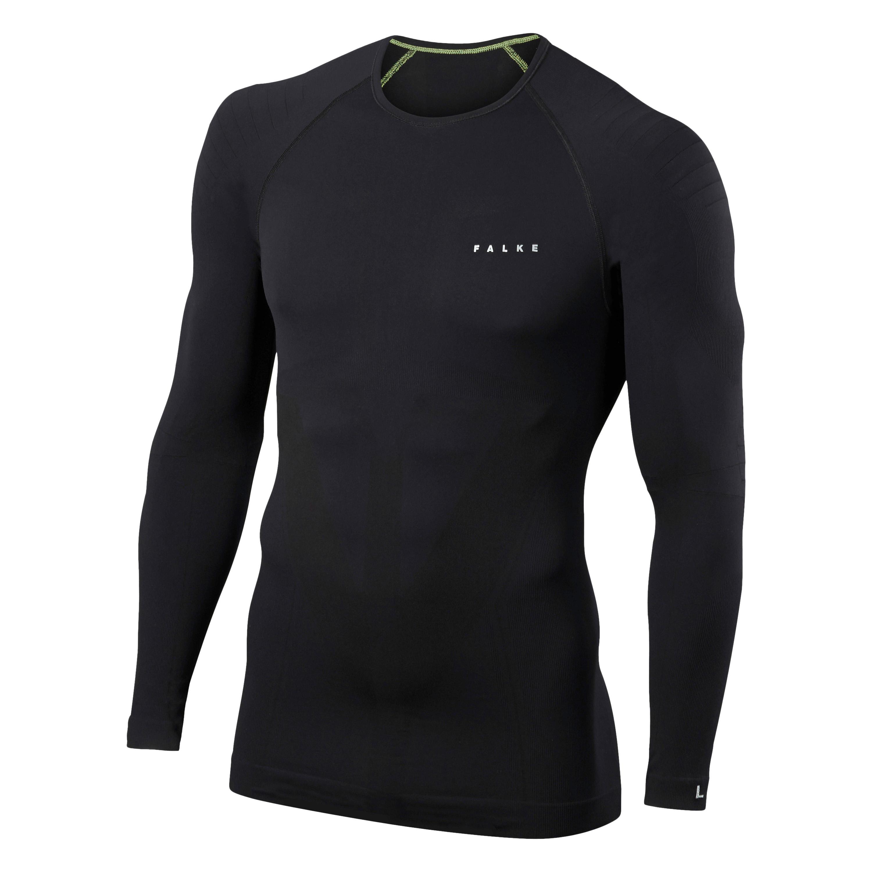 FALKE Longsleeved Shirt Tight Fit schwarz