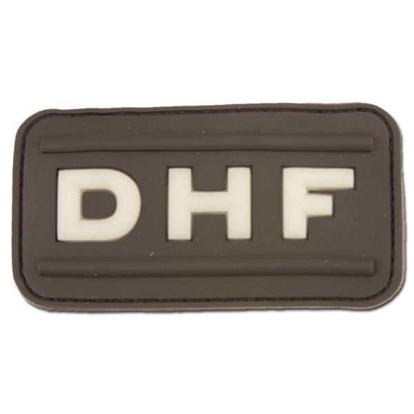 3-D Rubber Patch DHF swat