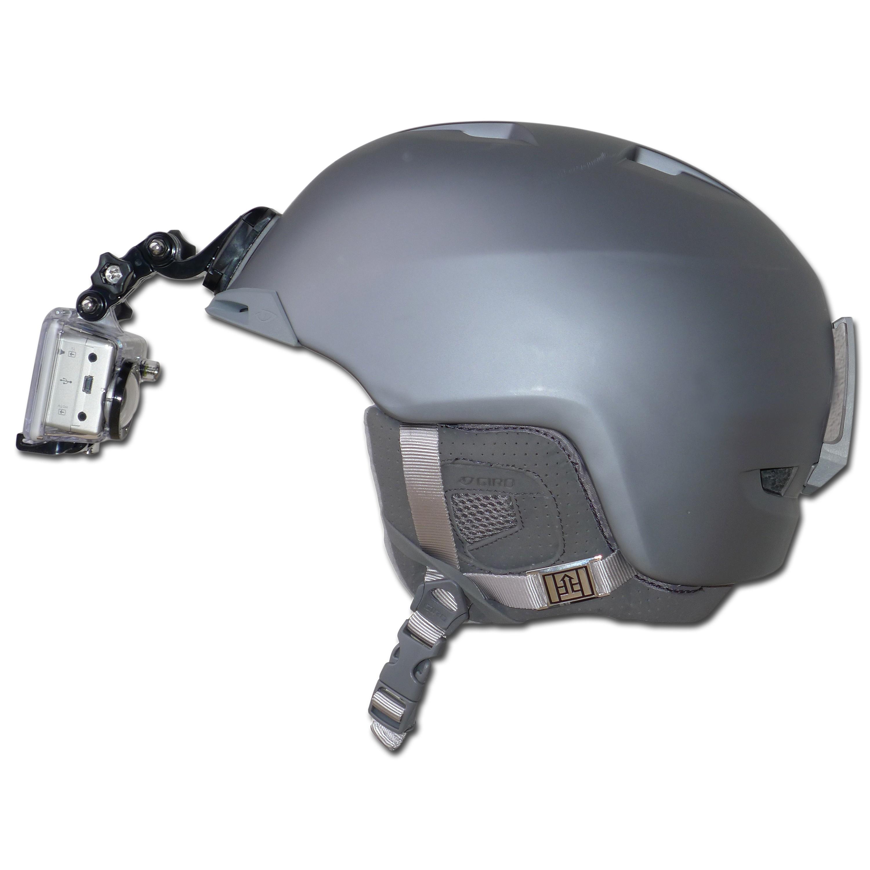 GoPro Halterung Helmvorderseite