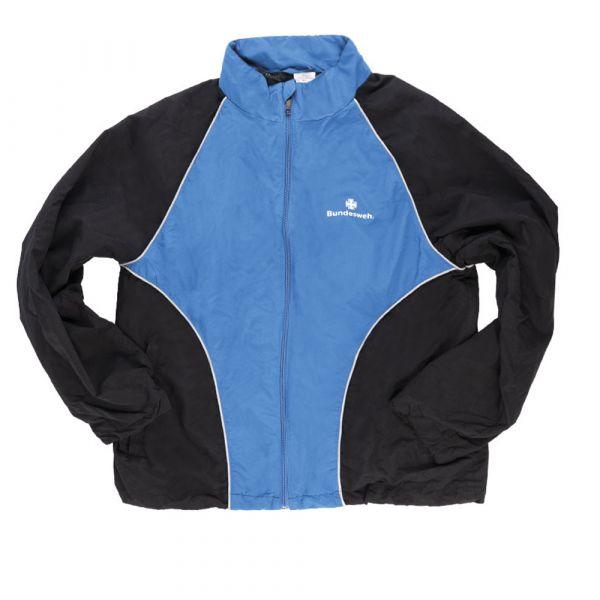 BW Trainingsjacke schwarz blau gebraucht