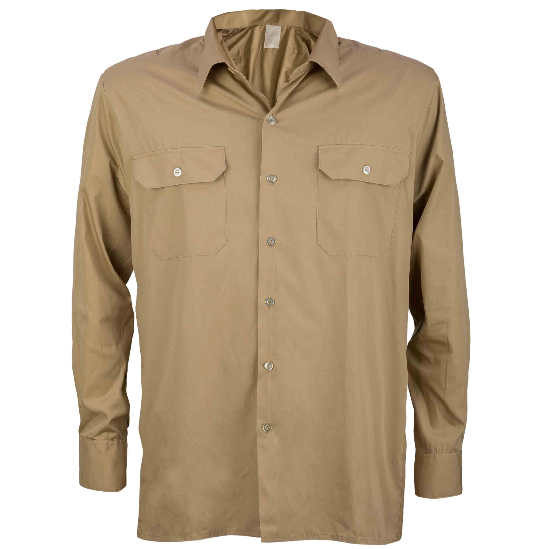 BW Diensthemd Tropen khaki gebraucht