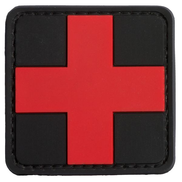 TAP 3D Patch Red Cross Medic schwarz-rot
