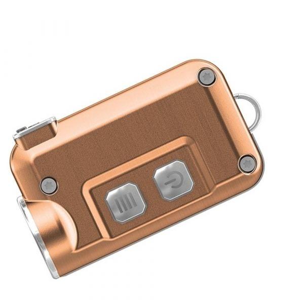 Nitecore Schlüsselanhängerlampe TINI kupfer