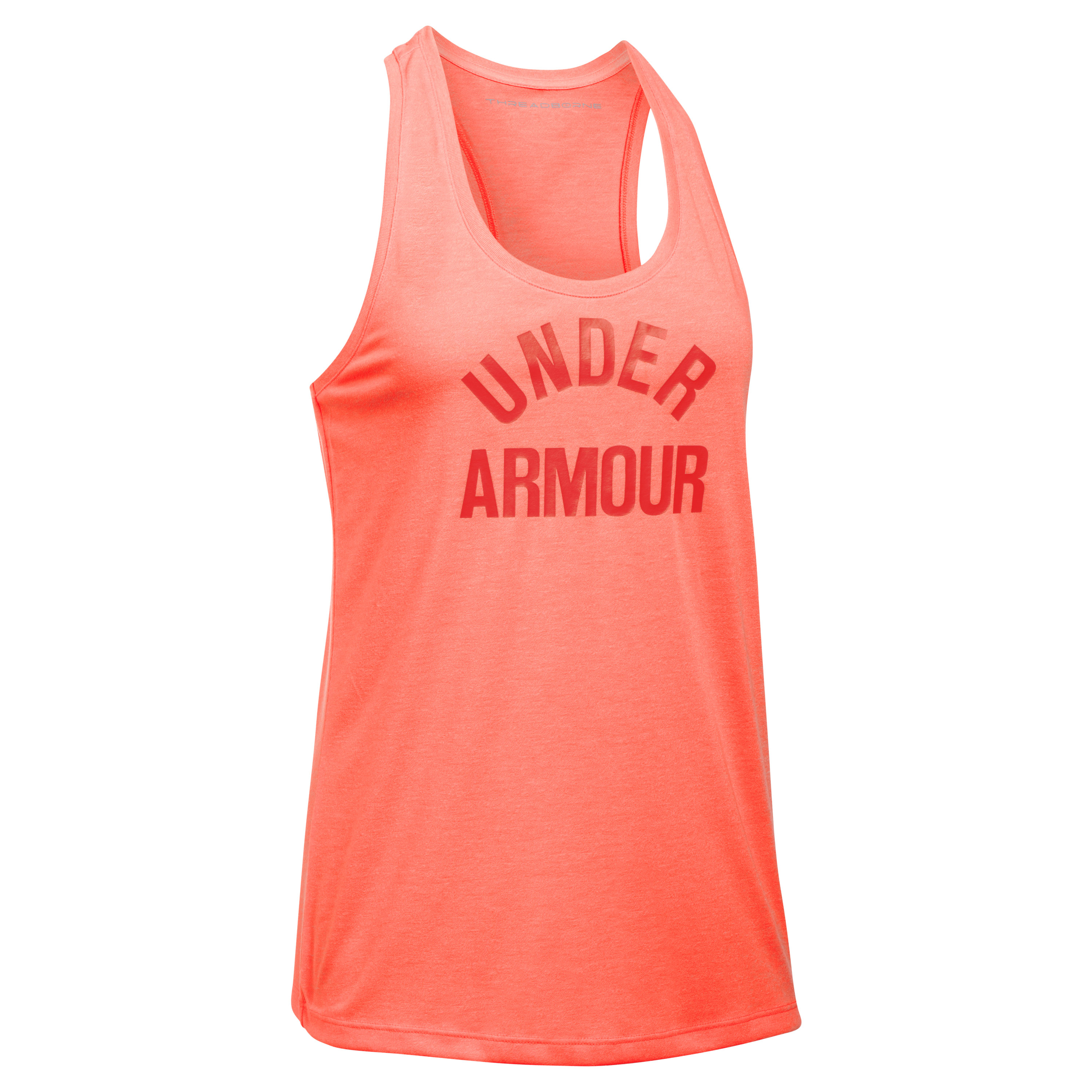 Under Armour Fitness Damen Threadborne Tank Top orange