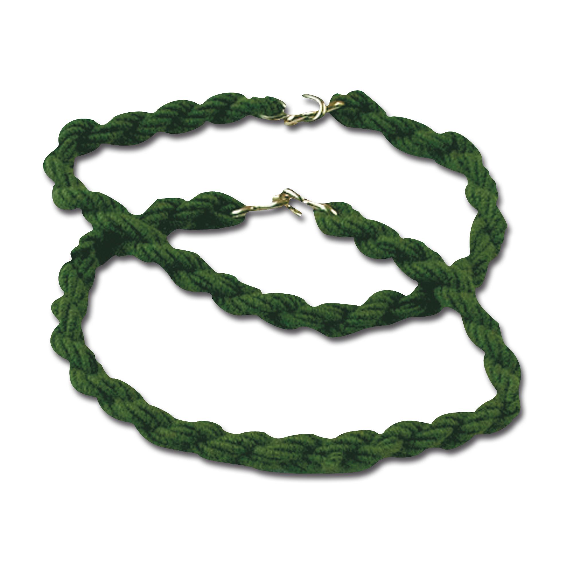 Hosengummibänder mit Haken oliv