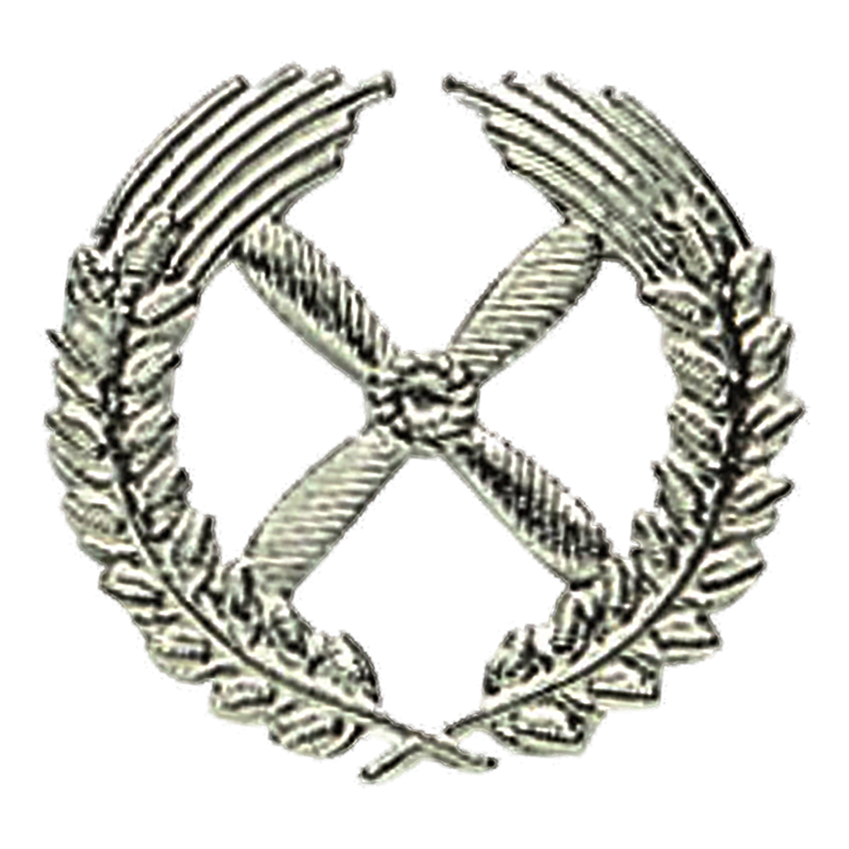 NVA Mützenabzeichen LSK Propeller Offizier