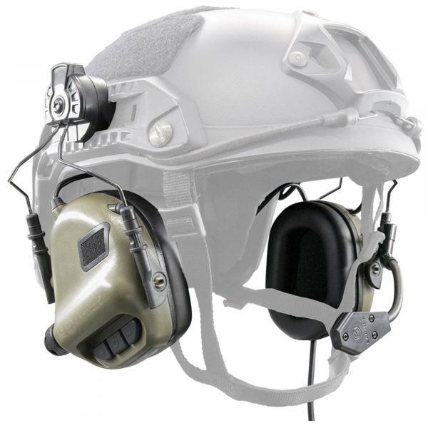 Earmor Aktivgehörschutz M32 für FAST Helme NRR22 foliage green