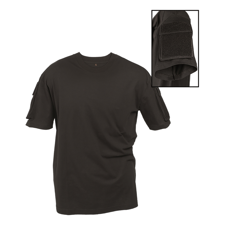 Mil-Tec T-Shirt Tactical schwarz