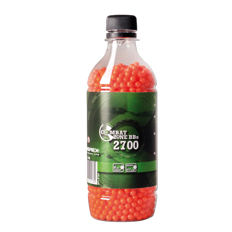 Softair-Kugeln Combat Zone 6 mm 2700 St. (0,12 g) orange