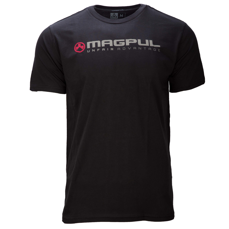Magpul T-Shirt Fine Cotton Unfair Advantage schwarz