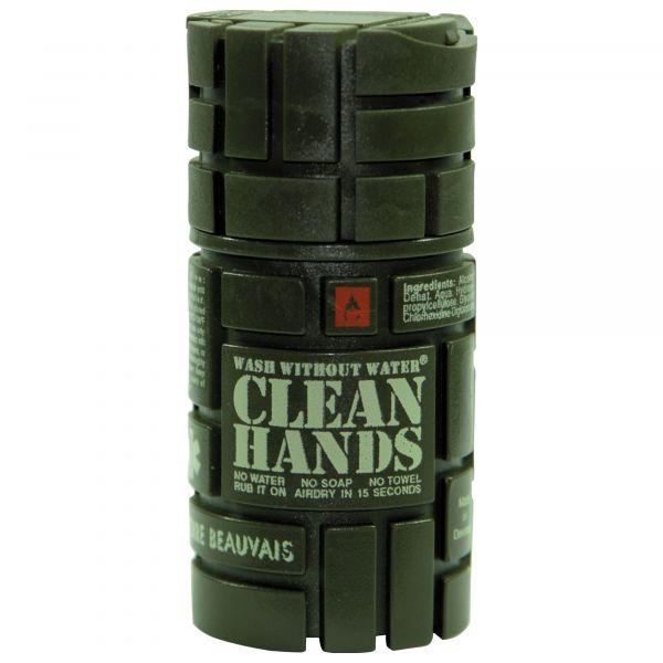 Handreiniger Clean Hands oliv