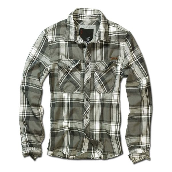 Brandit Checkshirt oliv