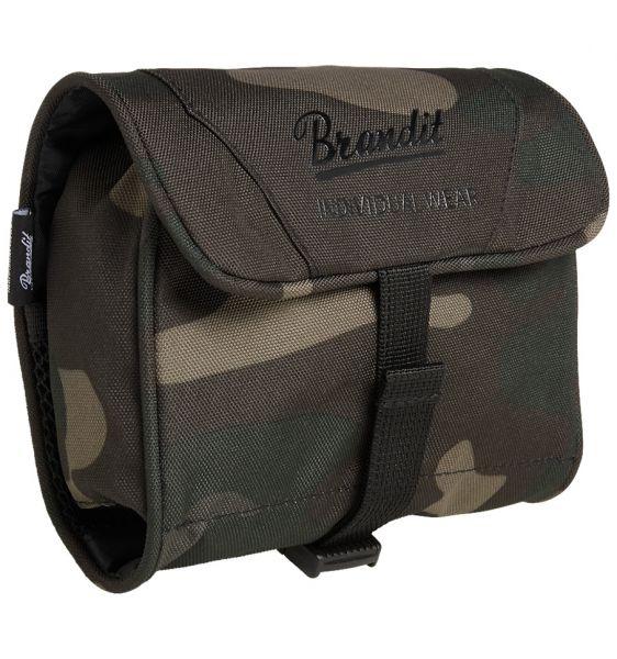 Brandit Toilettentasche Toiletry Bag medium darkcamo