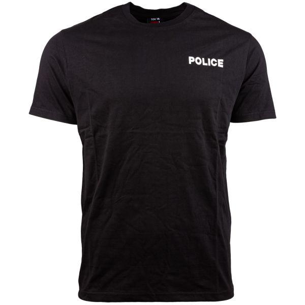 TOE Concept T-Shirt Strong Police schwarz