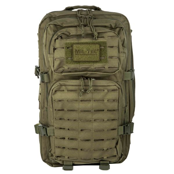 Rucksack US Assault Pack LG Laser Cut oliv