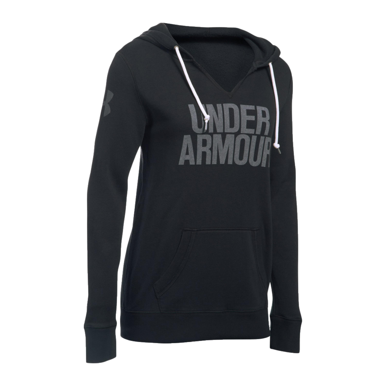Under Armour Women Pullover Favorite Fleece schwarz