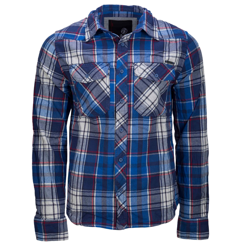 Brandit Checkshirt navy