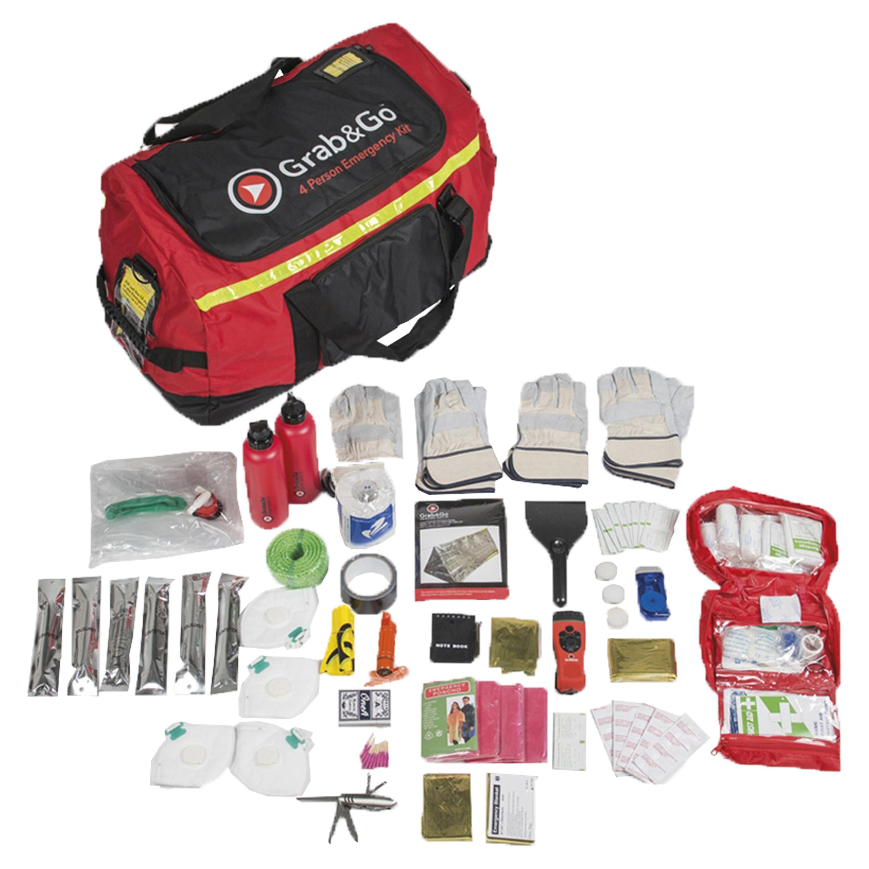 Grab&Go Emergency Kit 4 Personen