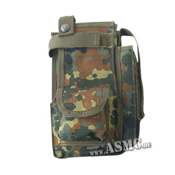 BW Funkgerätetasche mit Aussentasche fleckt.