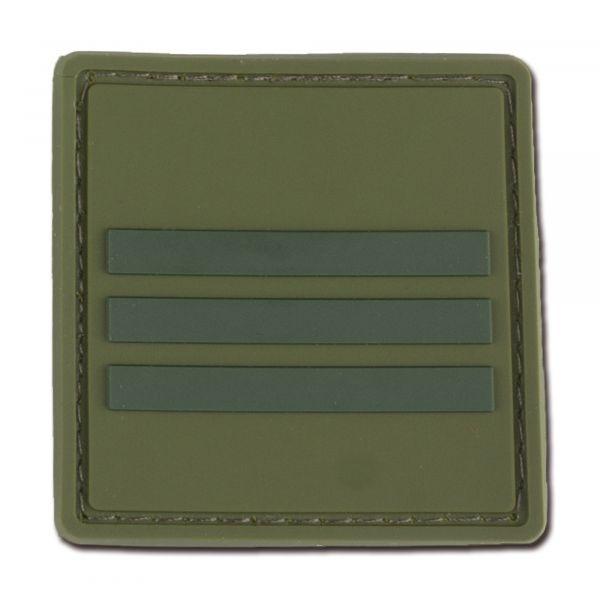 Dienstgradabzeichen Frankreich Capitaine oliv tarn