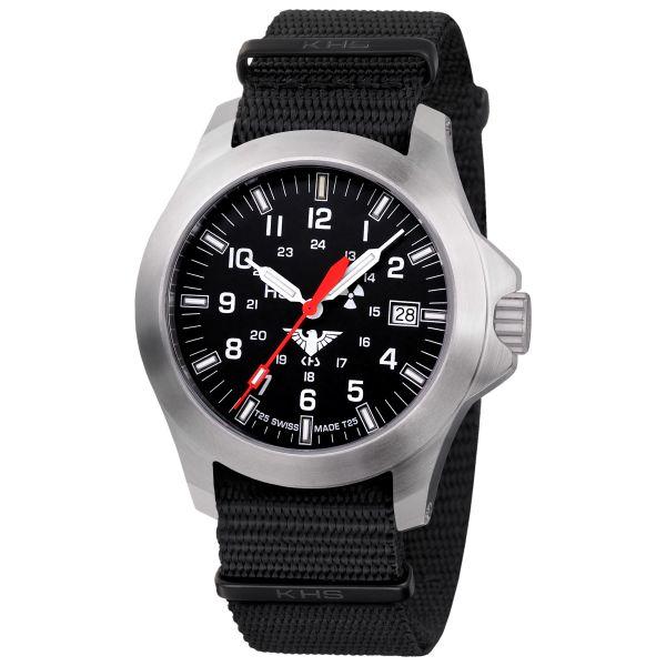 KHS Uhr Platoon LDR Natoband schwarz