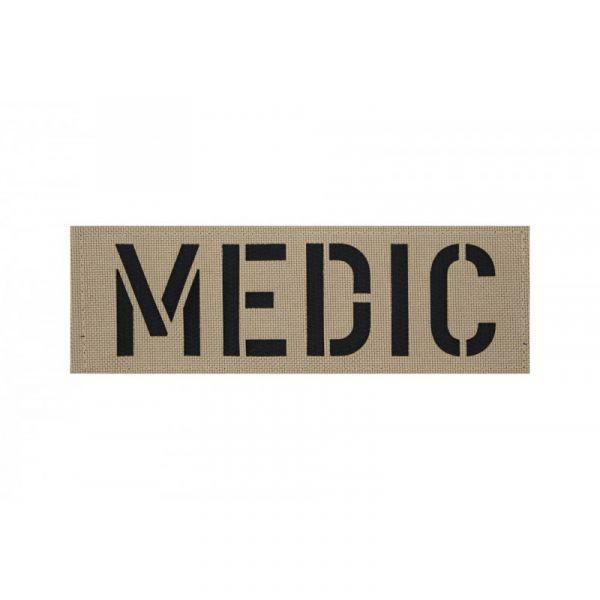 Zentauron Patch MEDIC sand schwarz