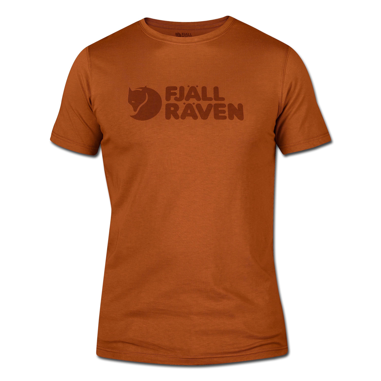 Fjällräven Logo T-Shirt Herbstblatt