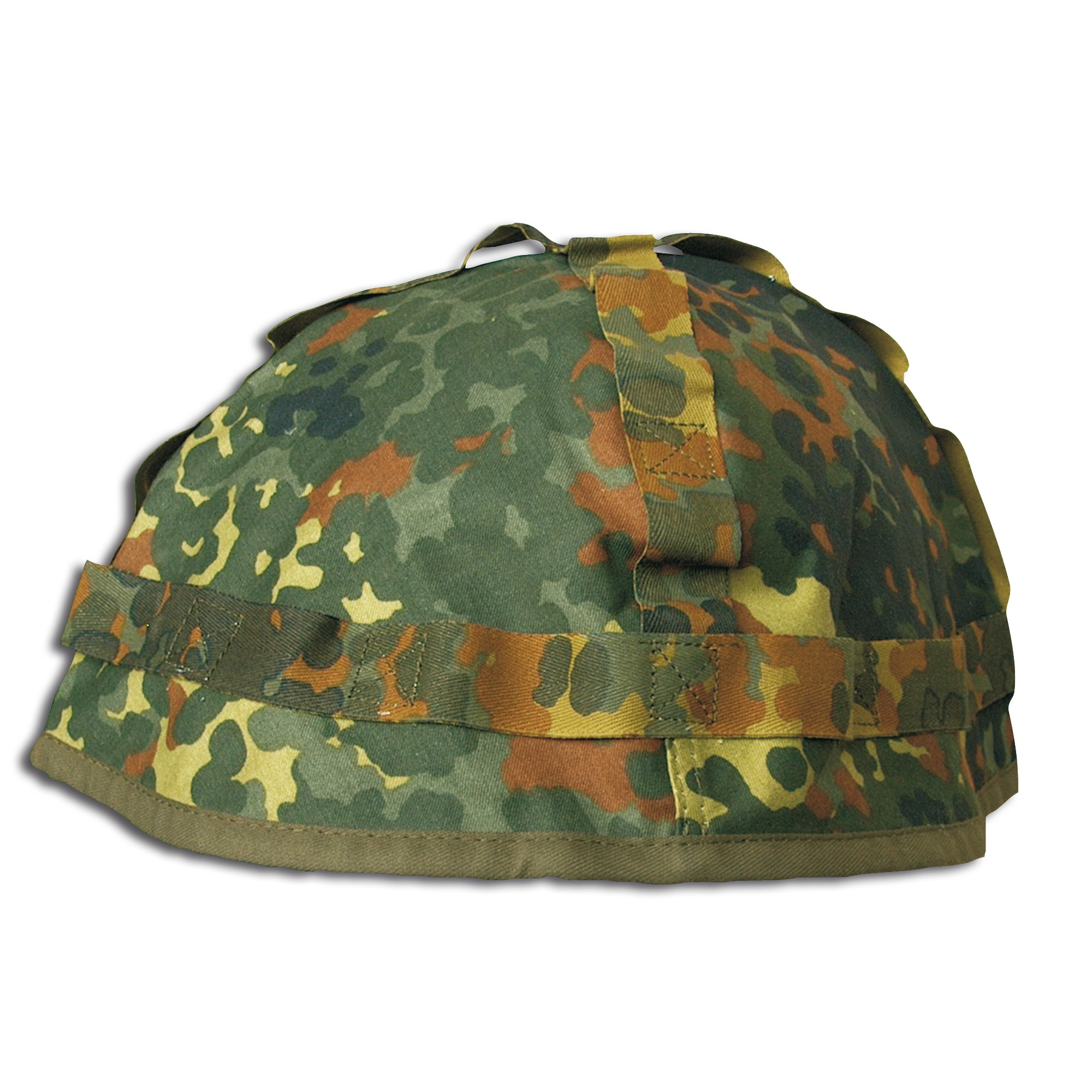 Helmbezug flecktarn für Stahlhelm gebraucht
