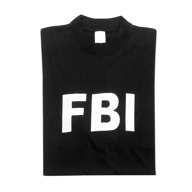 T-Shirt FBI schwarz