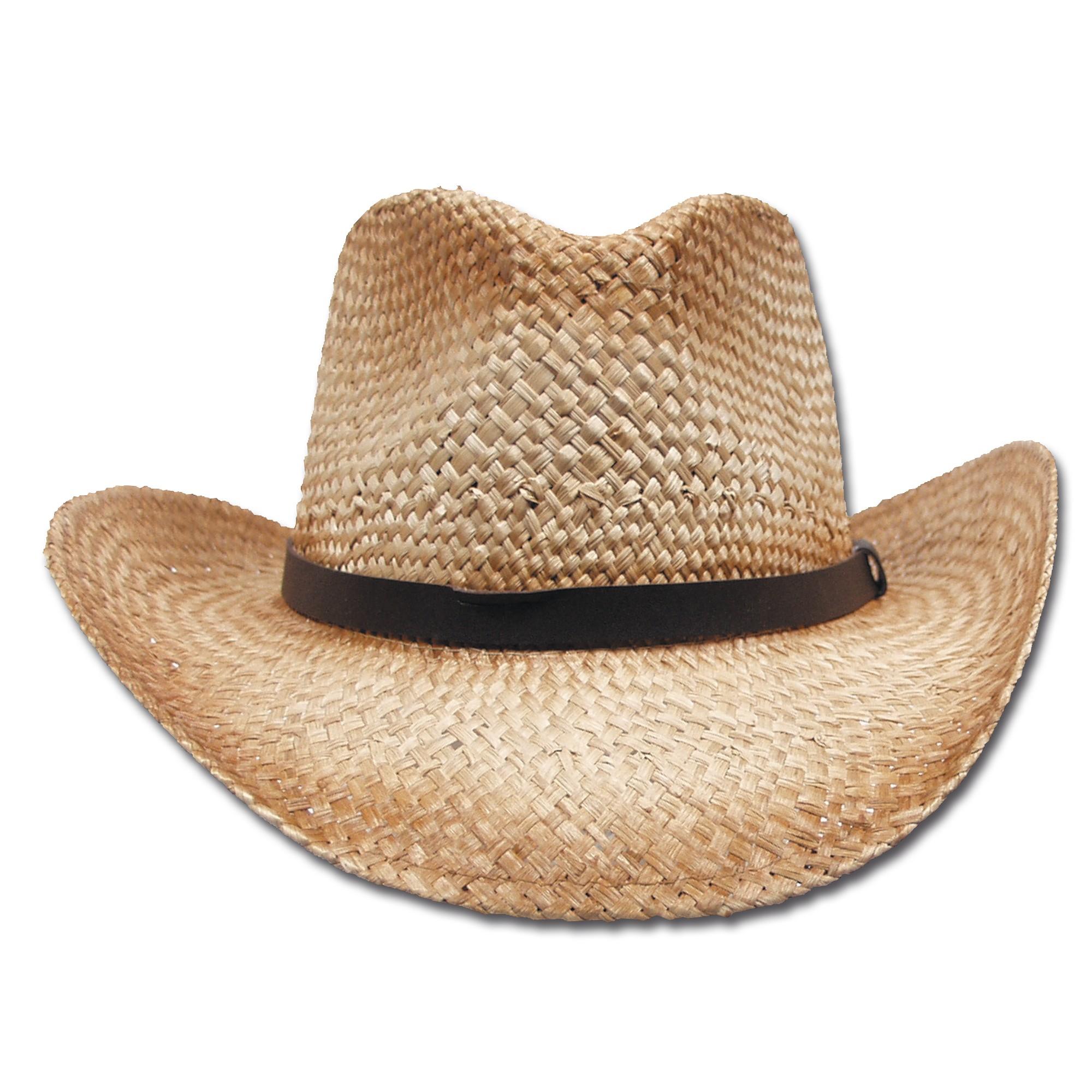 Strohhut mit Hutband