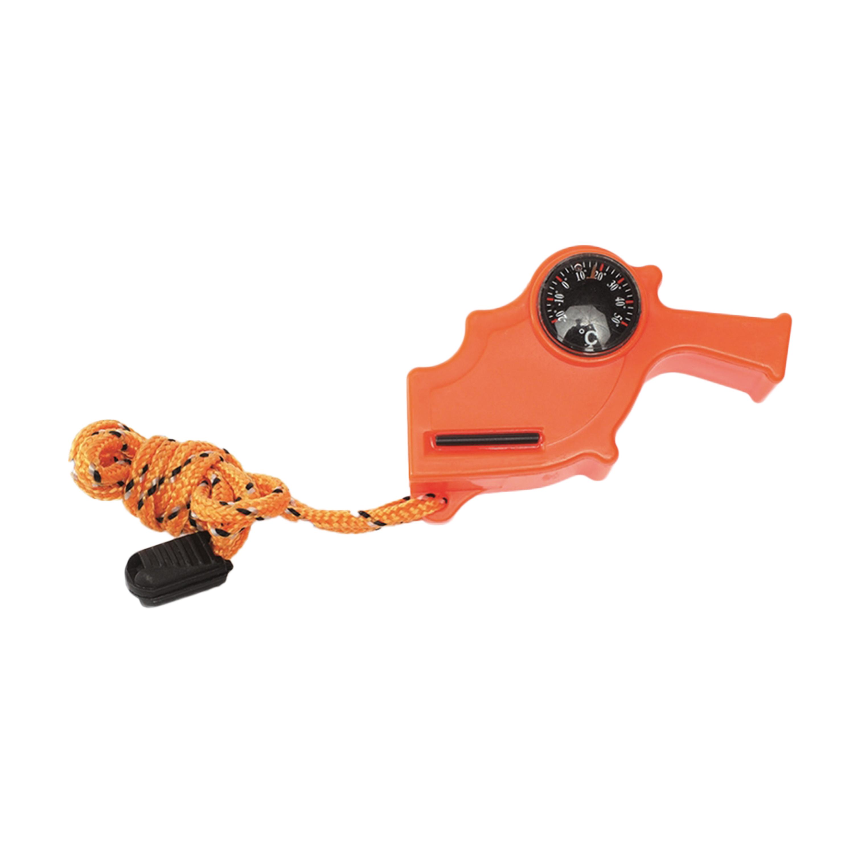Signalpfeife Safety 4 in 1 orange