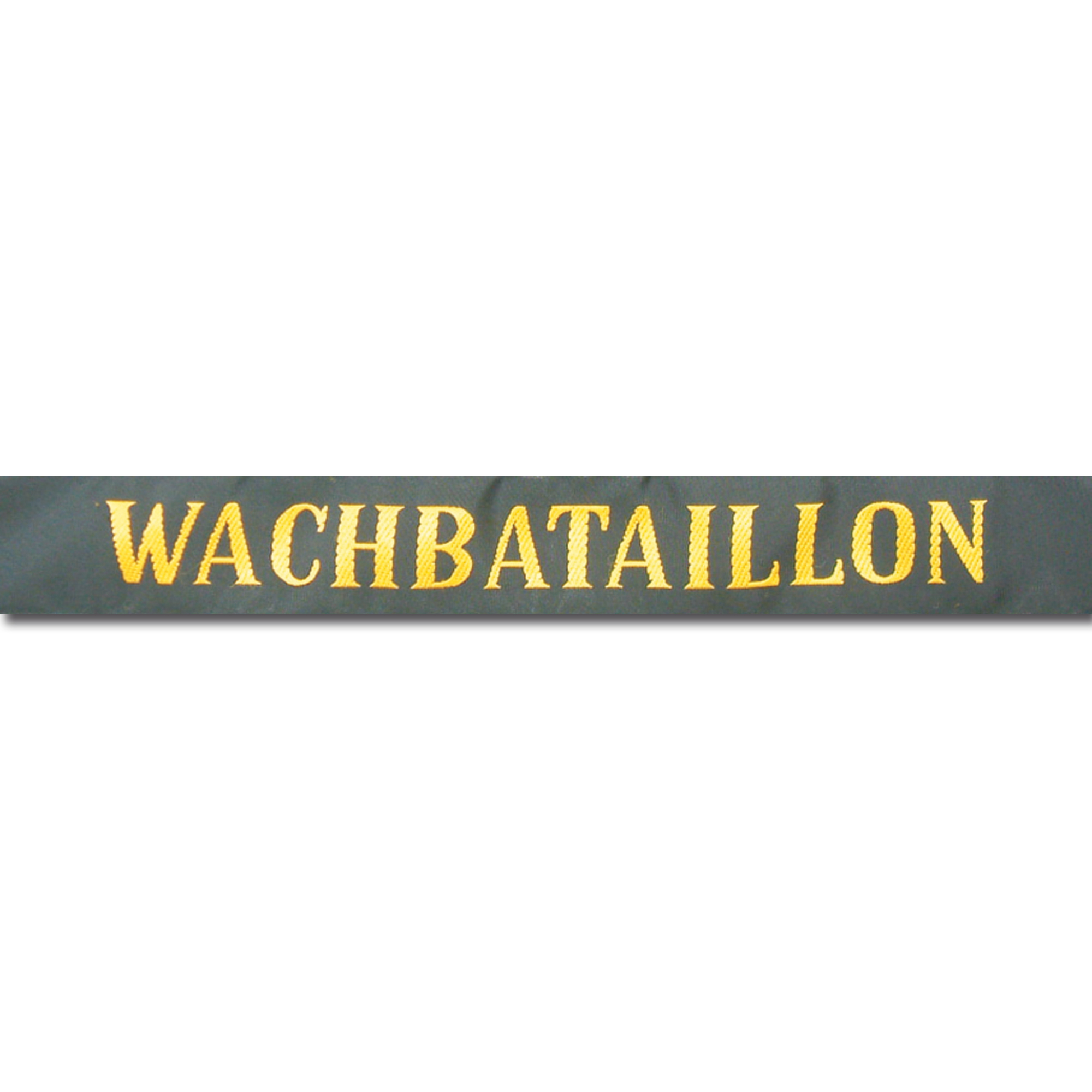 Mützenband Wachbataillon