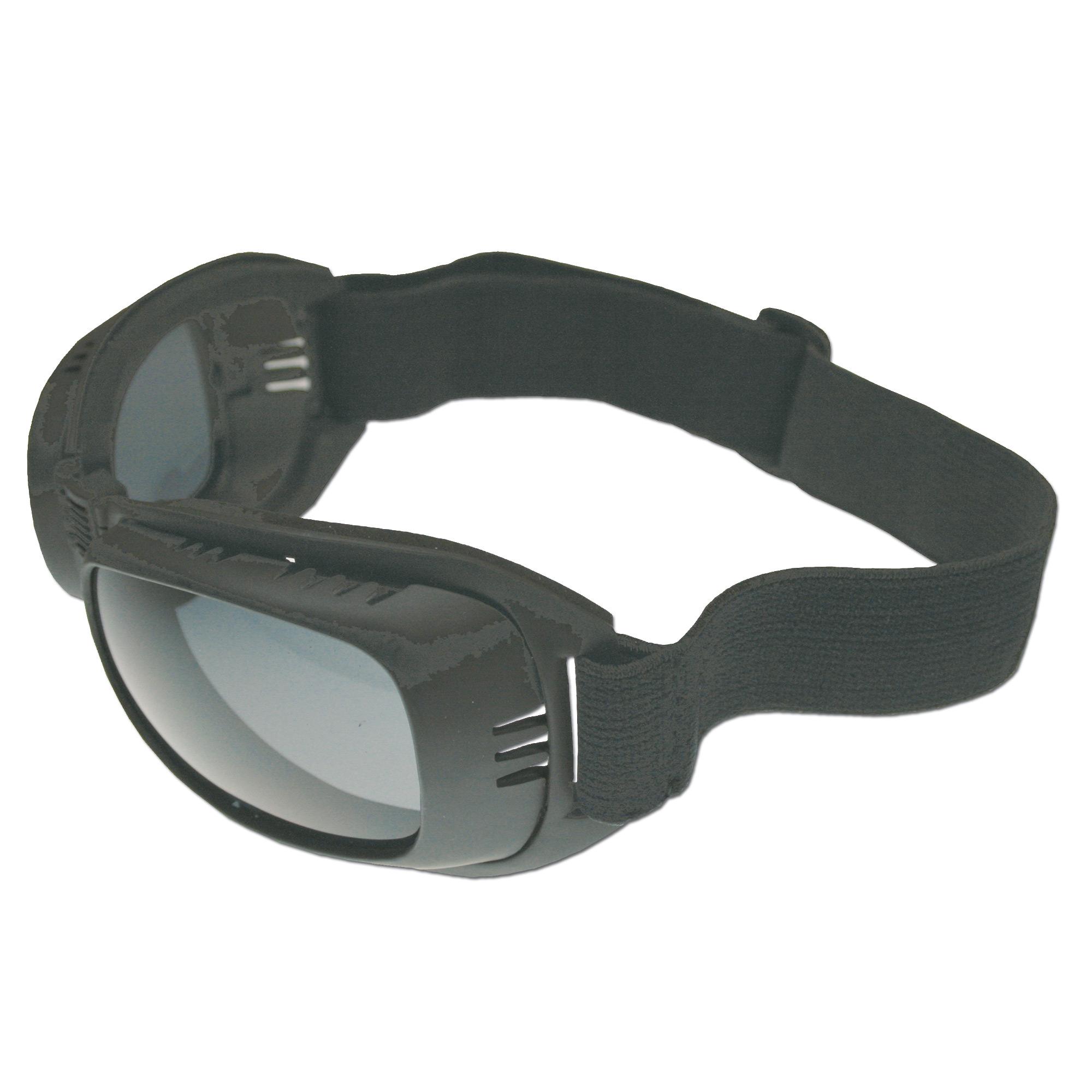 Bikerbrille Eagle 2 schwarz