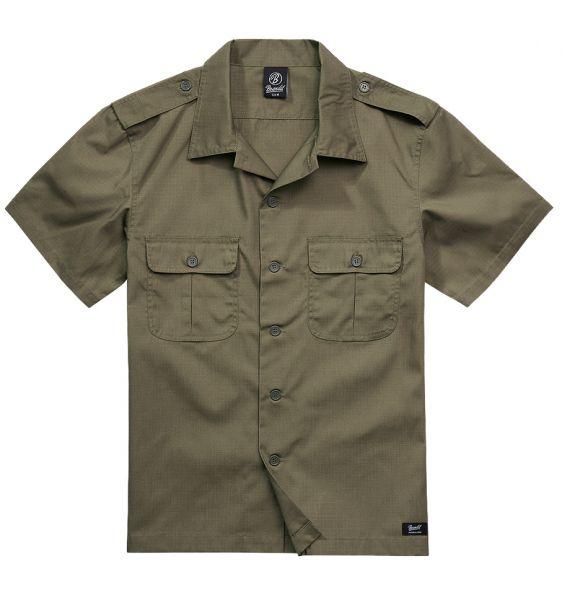 Brandit Shirt US Ripstop Shortsleeve oliv