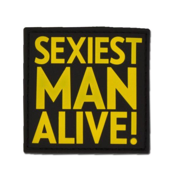 3D-Patch SEXIEST MAN ALIVE fullcolor
