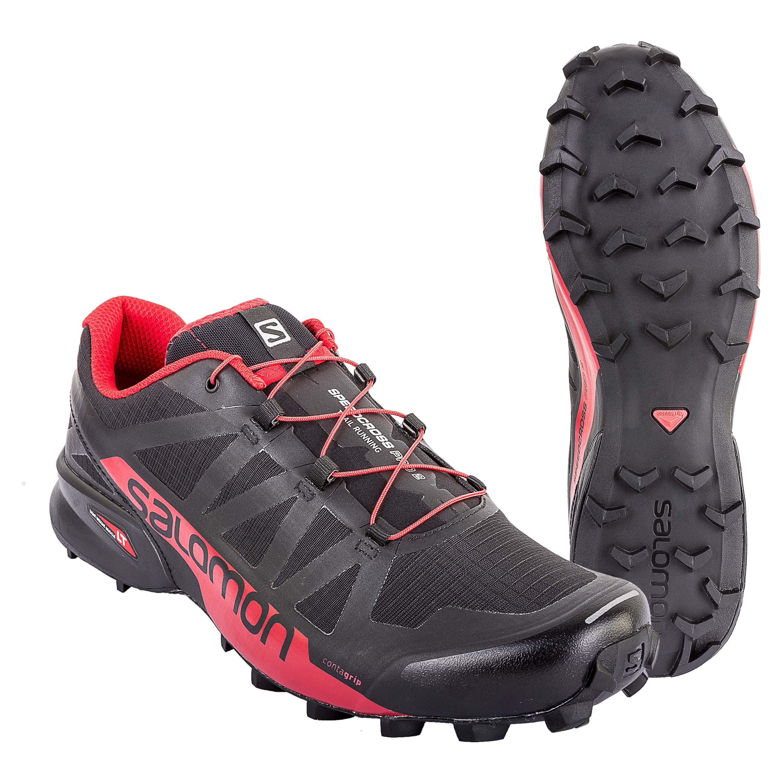 big sale 3b0c5 d2222 Salomon Schuh Speedcross Pro 2 schwarz rot