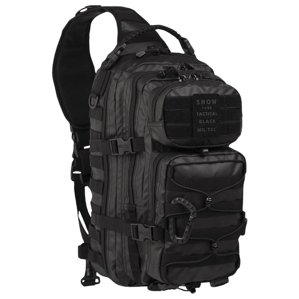 Rucksack US Assault Pack One Strap Tactical Black Large