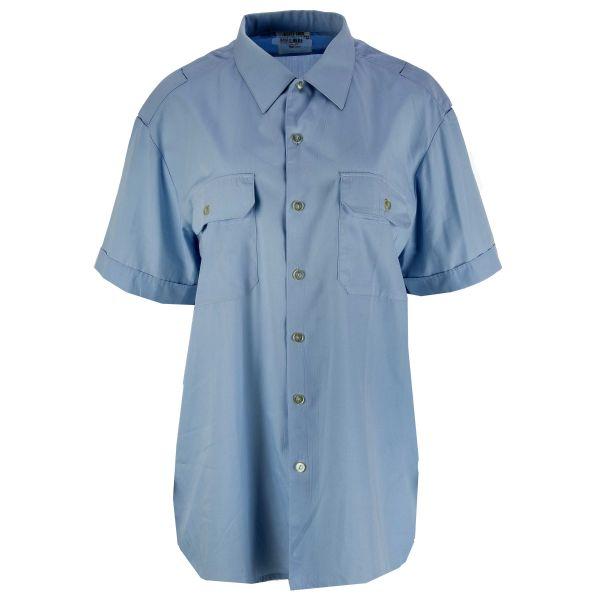 BW Diensthemd Kurzarm blau gebraucht