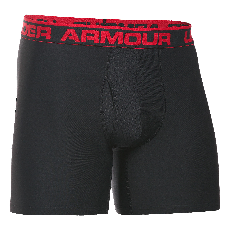 Under Armour Boxershorts O Series 6 2er Pack schwarz