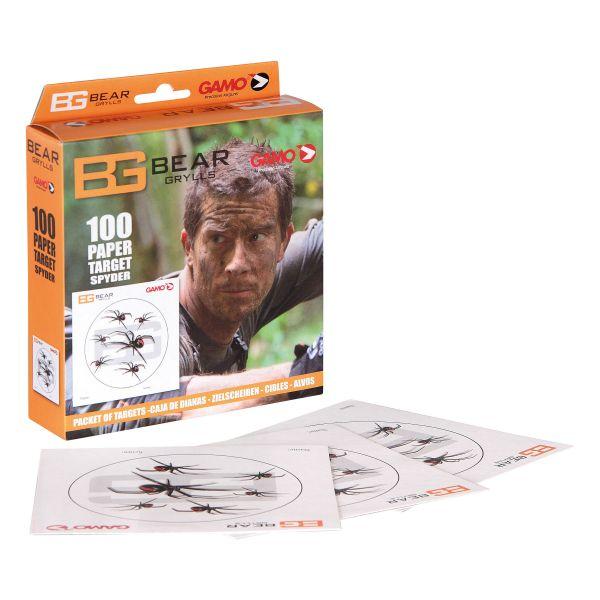 Bear Grylls Schießscheiben Spinnen 100 St.
