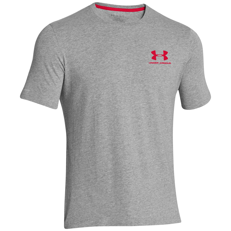 Under Armour Tactical Shirt CC Sportstyle Logo hellgrau