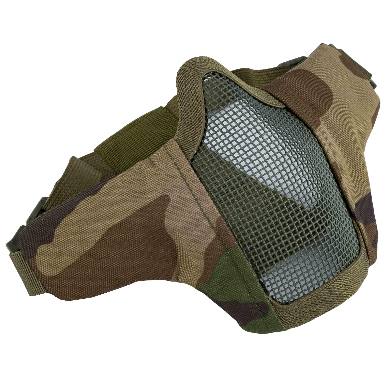 Invader Gear Gittermaske Mk.II Steel Half Face Mask woodland