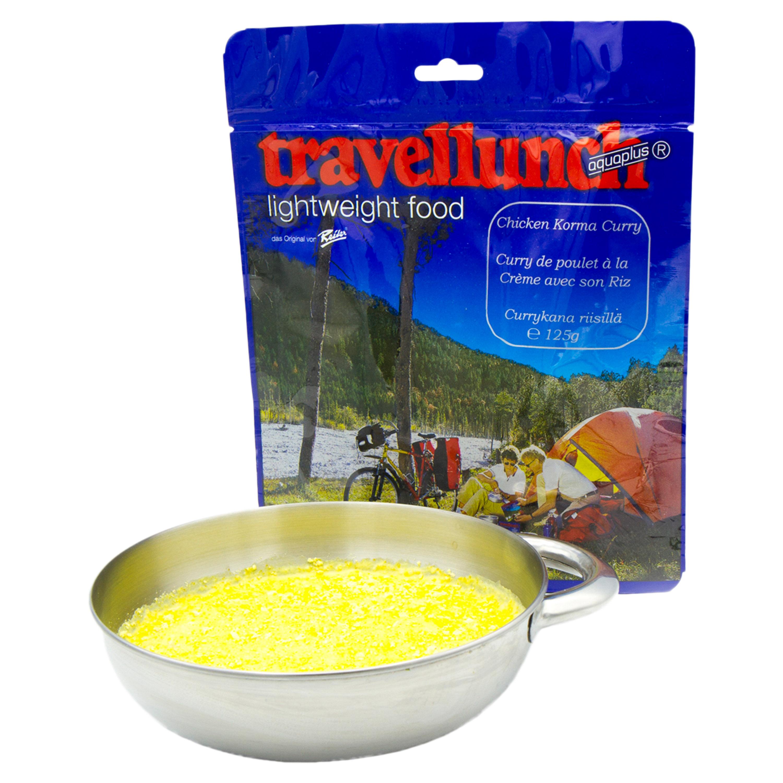 Travellunch Huhn in Curryrahm