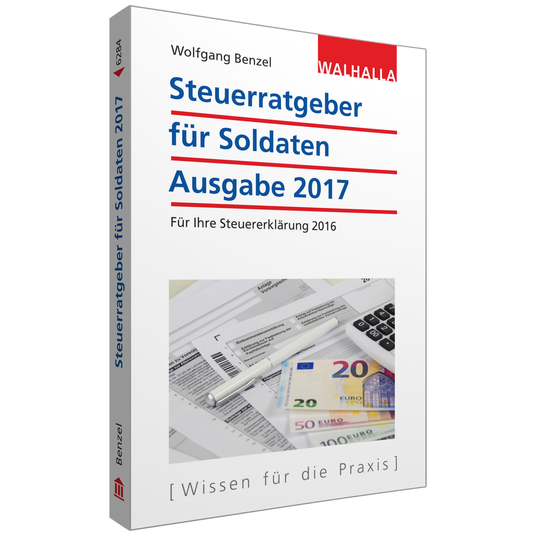 Buch Der aktuelle Steuerratgeber für Soldaten 2017