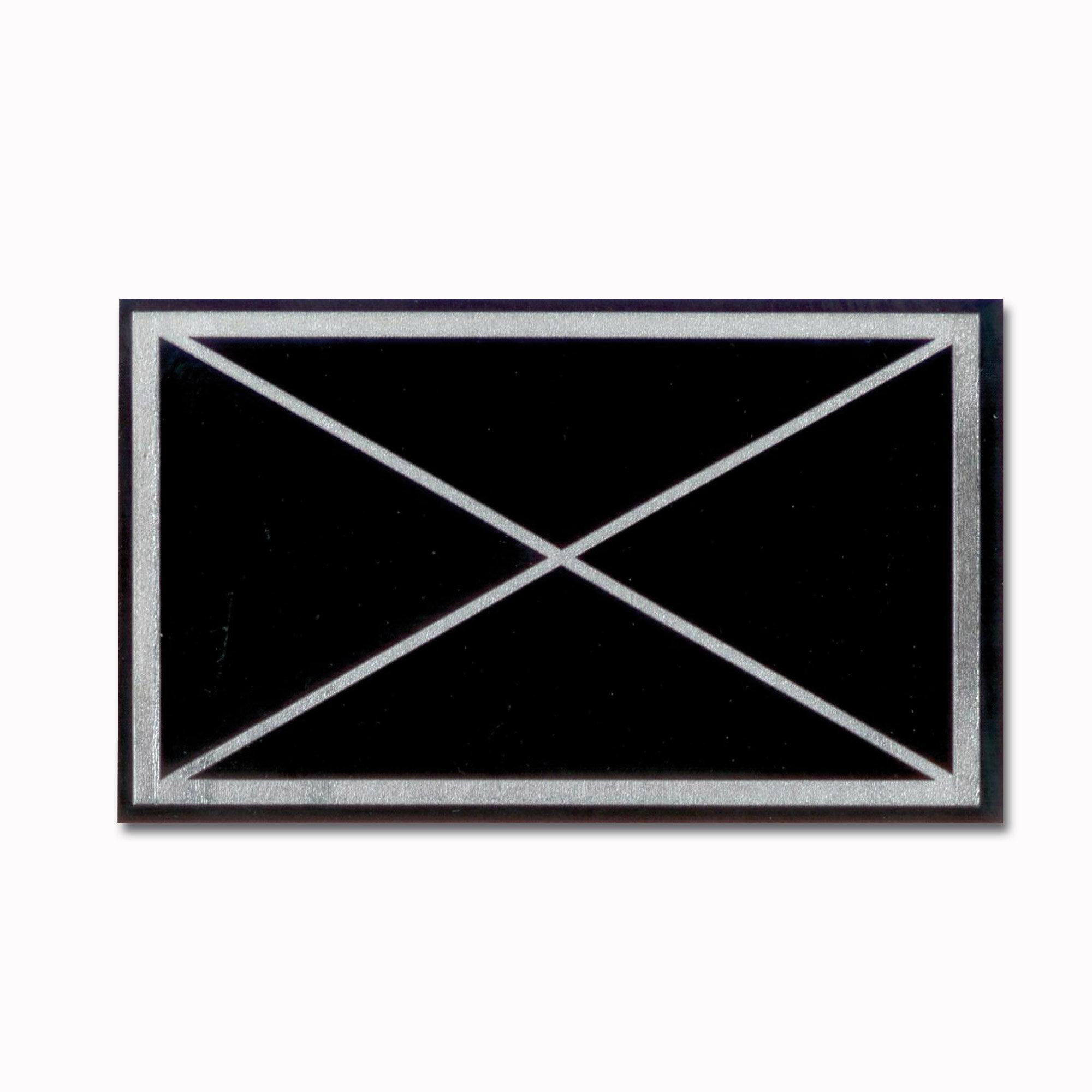 Aufkleber militärisches Symbol Jägertruppe