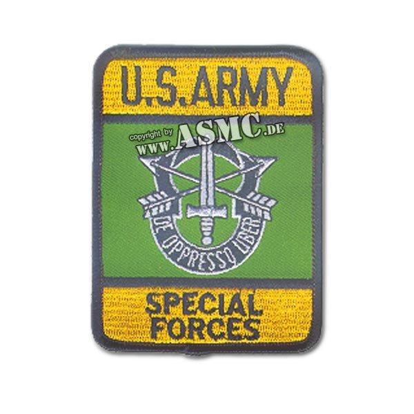 Abzeichen US Textil Special Forces rechteckig